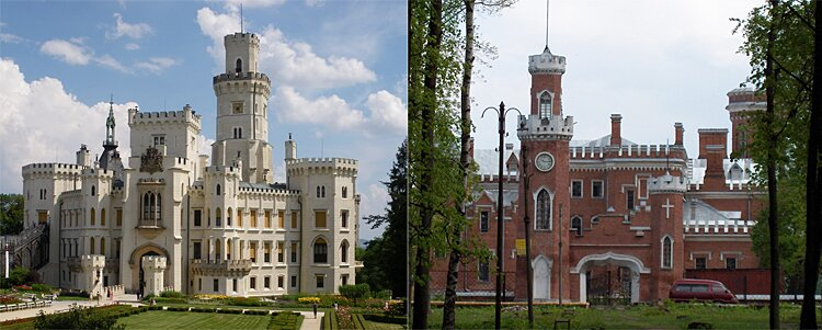 История замка и имения в целом